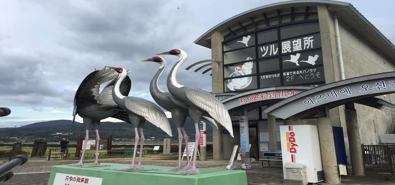 Arasaki Crane Observation Centre