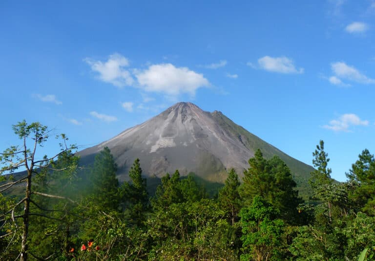 Arenal Volcano-by Gina Nichol