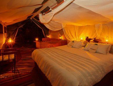 Konkamoya - Inside another tent