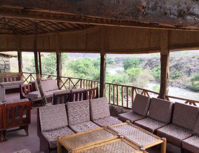 Awash Falls Lodge dining