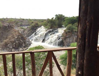 Awash Falls Lodge from balcony