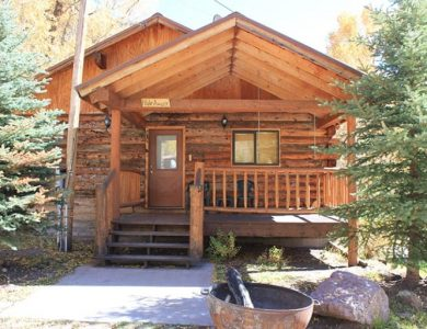Blue Creek Lodge Cabin
