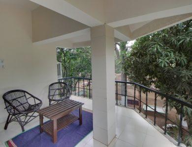 Gir Pride Resort Balcony