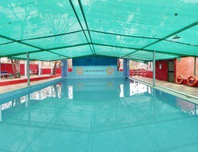Gir Pride Resort swimming pool