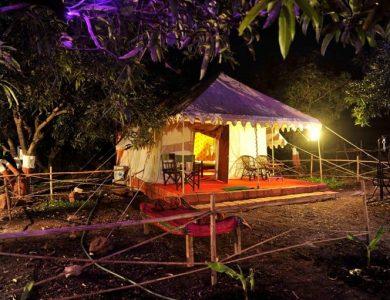 Gir Pride Resort tent