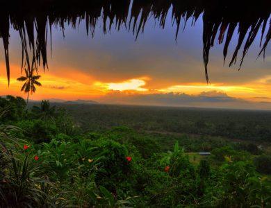 Karawari sunset