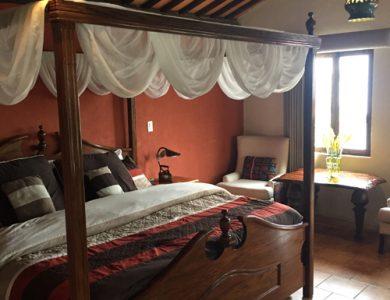 Las Cumbres Hotel Double bedroom