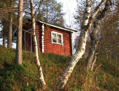 Neljän Tuulen Tupa Log Cabin