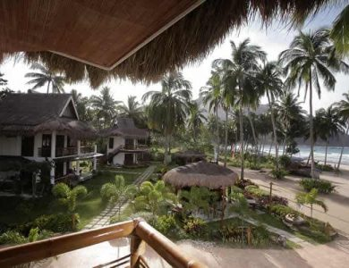 Daluyon Beach and Mountain Resort access-to-beach-from-hotel