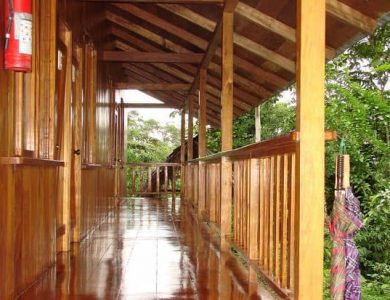 Choco Lodge - balcony