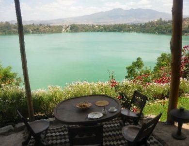 Babogaya Lake Viewpoint Lodge breakfast-at-viewpoint