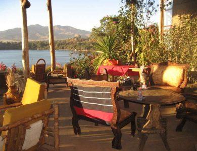 Babogaya Lake Viewpoint Lodge breakfast