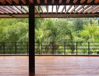 Araucana Lodge - Decking area
