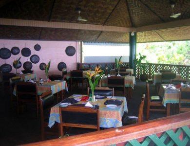 Malolo Plantation Lodge - Dining area