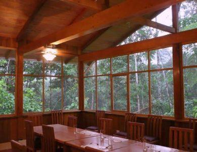 Choco Lodge - dining-area