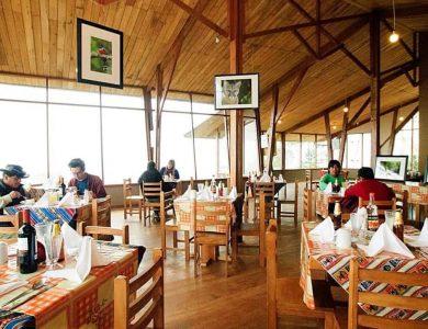 Wayqecha dining room