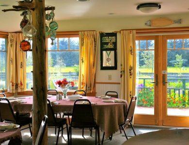 Gustavus Inn dining-room