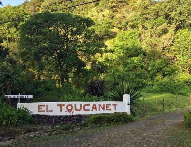 Toucanet Lodge entrance