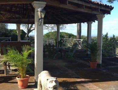 Casa Hacienda - Entrance to gazebo