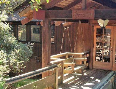 Osprey Peak B&B - Entrance to the house