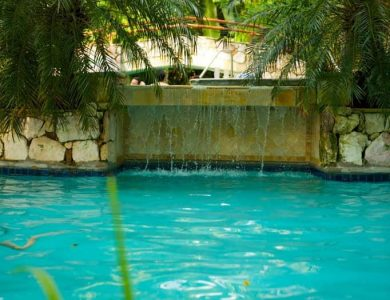 Caves Branch Jungle Lodge - Freshwater swimming pool