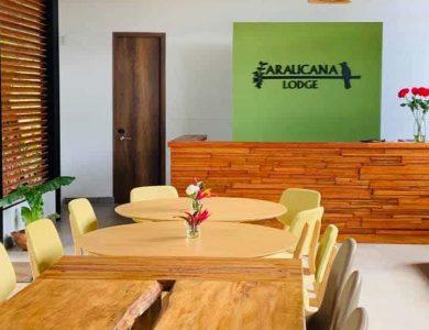 Araucana Lodge - Front desk