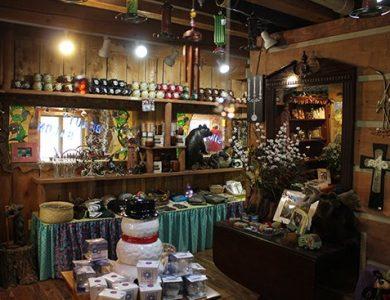 Blue Creek Lodge gift-shop