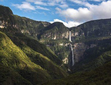 Gocta Andes -falls