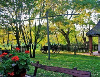 Kondor Eco Lodge - resting area in garden