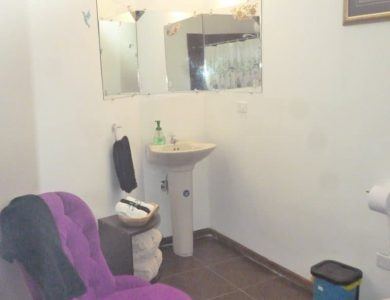 Large clean and comfortable bathrooms