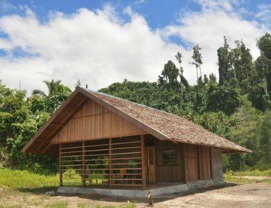 Weda Resort outside-a-cabin