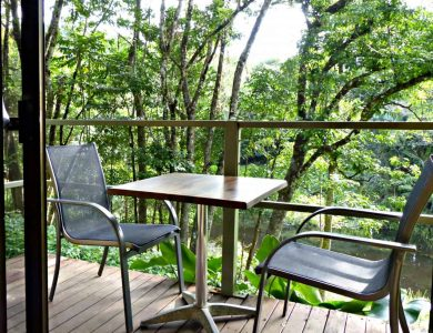 Daintree Valley Haven - Private veranda overlooking the rainforest