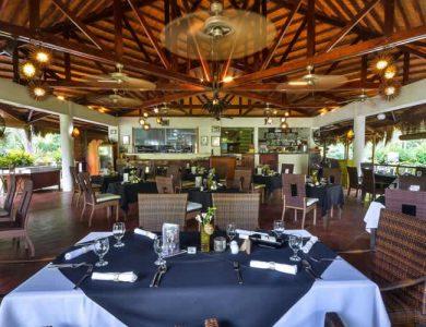 Daluyon Beach and Mountain Resort restaurant