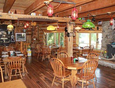 Blue Creek Lodge restaurant