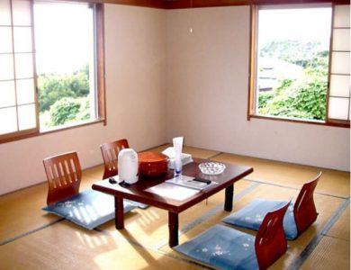 Miyakejima Hotel room
