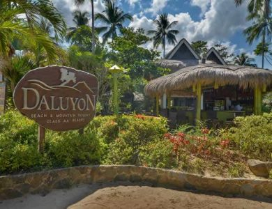 Daluyon Beach and Mountain Resort sign