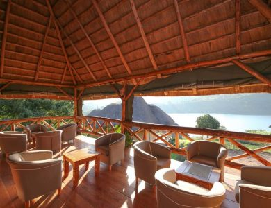 Crater Safari Lodge - View from the balcony