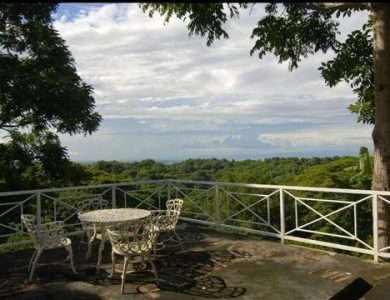Casa Hacienda - View from the gazebo
